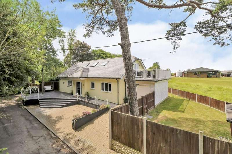 4 Bedrooms Detached House for sale in Packards Lane, Wormingford, Colchester, Essex