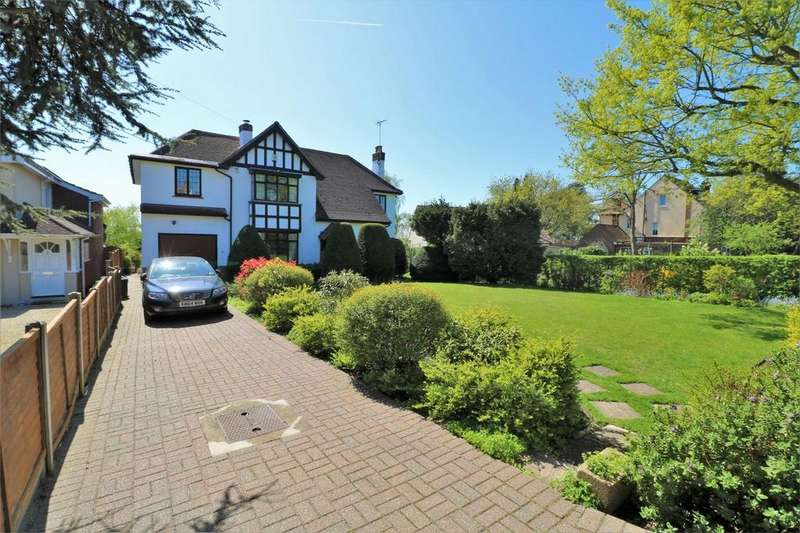 4 Bedrooms Detached House for sale in Belle Vue Road, Wivenhoe, Colchester, Essex