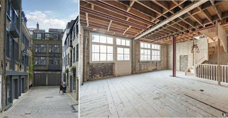 3 Bedrooms Mews House for sale in Bourlet Close, Fitzrovia, London W1W
