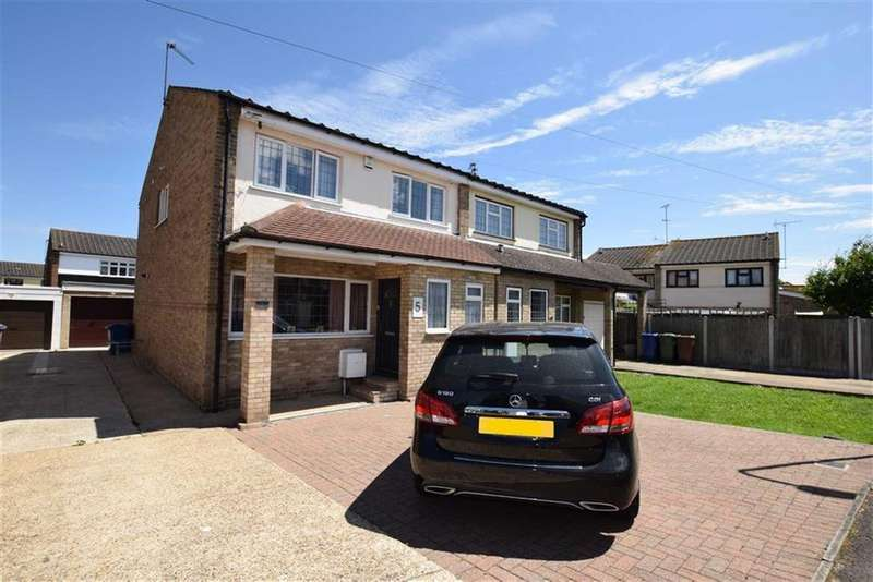 4 Bedrooms Semi Detached House for sale in The Willows, Grays, Essex