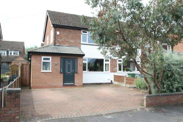 3 Bedrooms Semi Detached House for sale in Halton Drive, Timperley
