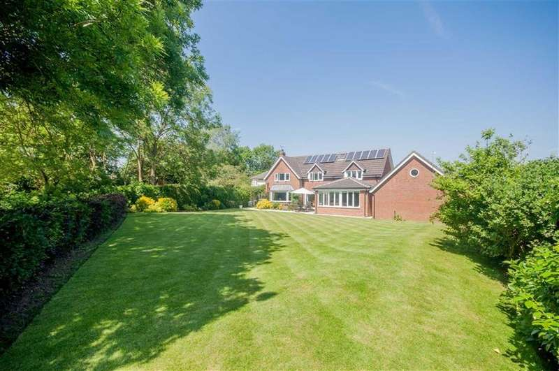 5 Bedrooms Detached House for sale in Quarry Hill, Farndon, Chester, Farndon