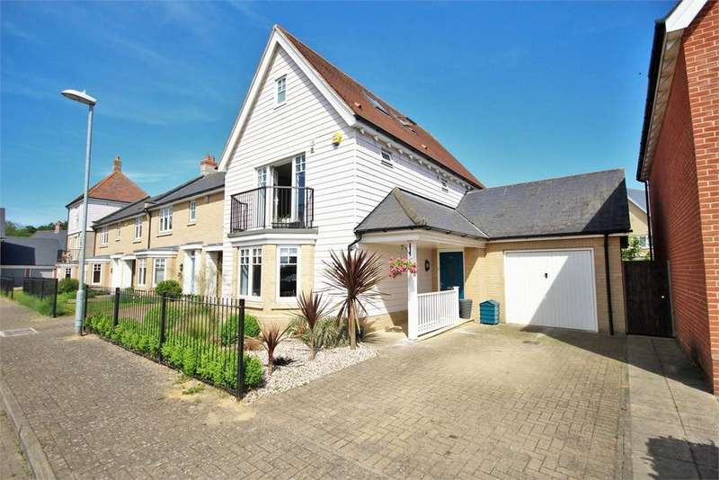 4 Bedrooms Link Detached House for sale in Pattinson Walk, Great Horkesley, Colchester, Essex