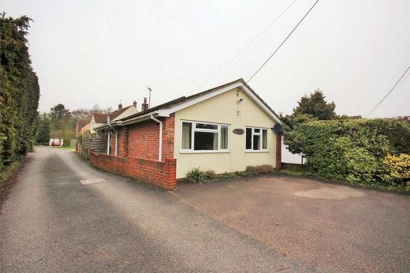 2 Bedrooms Detached Bungalow for sale in High Road, Layer-de-la-Haye, Colchester, Essex