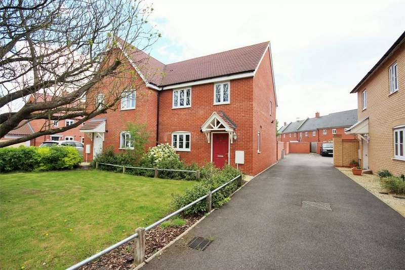 3 Bedrooms Semi Detached House for sale in Trowel Place, Colchester, Essex