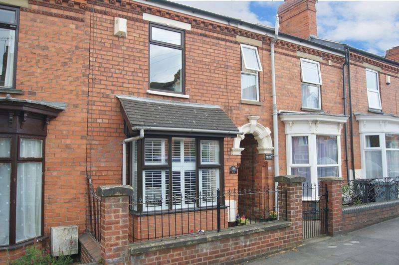 2 Bedrooms Terraced House for sale in Houghton Road, Grantham