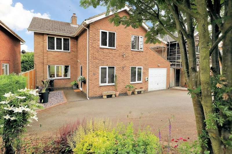 5 Bedrooms Detached House for sale in Upper Packington Road, Ashby-de-la-Zouch