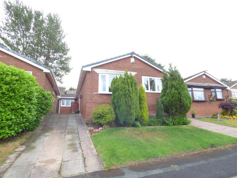 3 Bedrooms Detached Bungalow for sale in Bidston Close, Shaw, Oldham, Greater Manchester, OL2