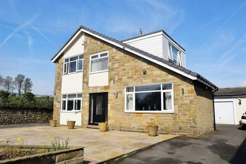 4 Bedrooms Detached House for sale in Common Road, Low Moor, Bradford