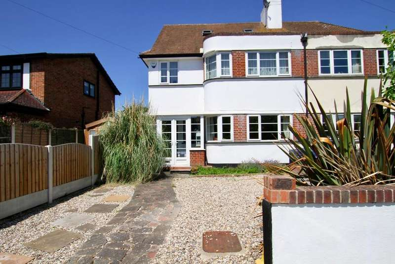 4 Bedrooms Semi Detached House for sale in Clatterfield Gardens, Westcliff-On-Sea