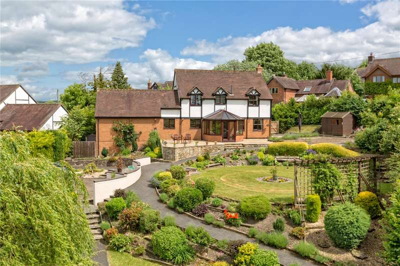 4 Bedrooms Detached House for sale in The Yews, Rushbury, Church Stretton, Shropshire, SY6