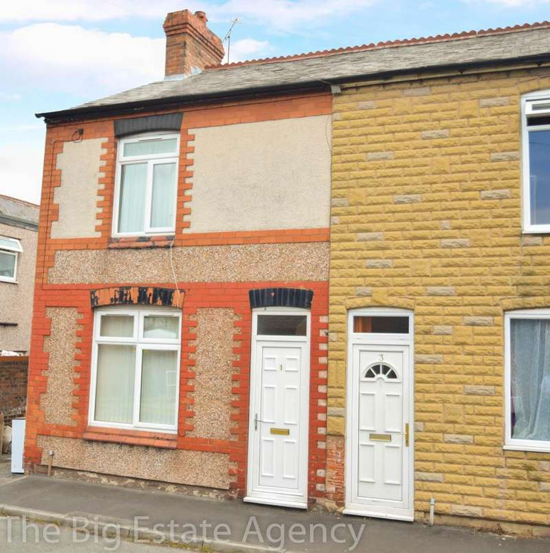 2 Bedrooms Terraced House for sale in North Street, Deeside, CH5