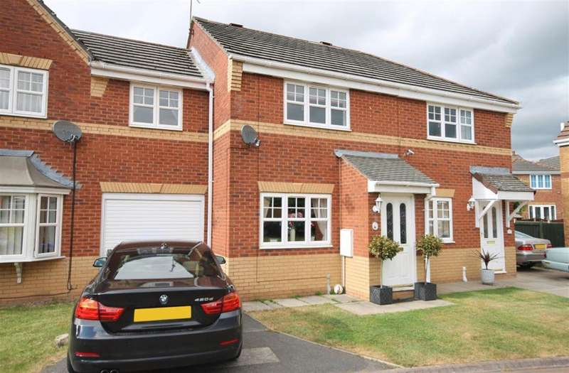 3 Bedrooms Town House for sale in Southey Close , Widnes, Cheshire, WA8 7EU