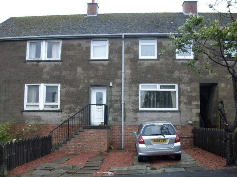 3 Bedrooms Terraced House for sale in Menzies Avenue, Cumnock KA18