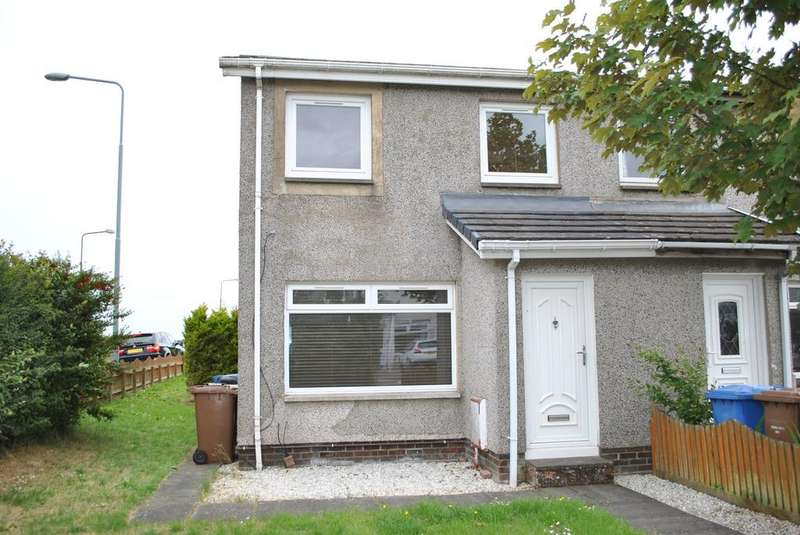 3 Bedrooms End Of Terrace House for sale in Overton Crescent, East Calder, West Lothian EH53
