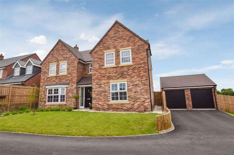 4 Bedrooms Detached House for sale in 31 Ashtree Drive, Barnard Castle, County Durham