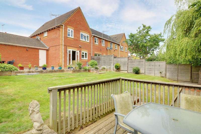 3 Bedrooms End Of Terrace House for sale in Budham Way, Bracknell