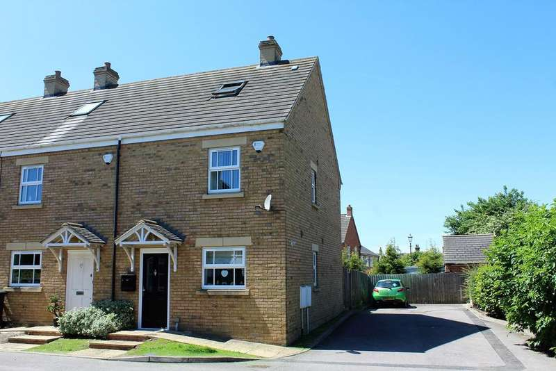 3 Bedrooms End Of Terrace House for sale in Weavers Orchard, Arlesey, SG15