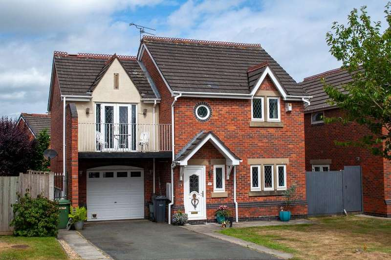 3 Bedrooms Detached House for sale in Hinchley Close, Hartford, Northwich, CW8