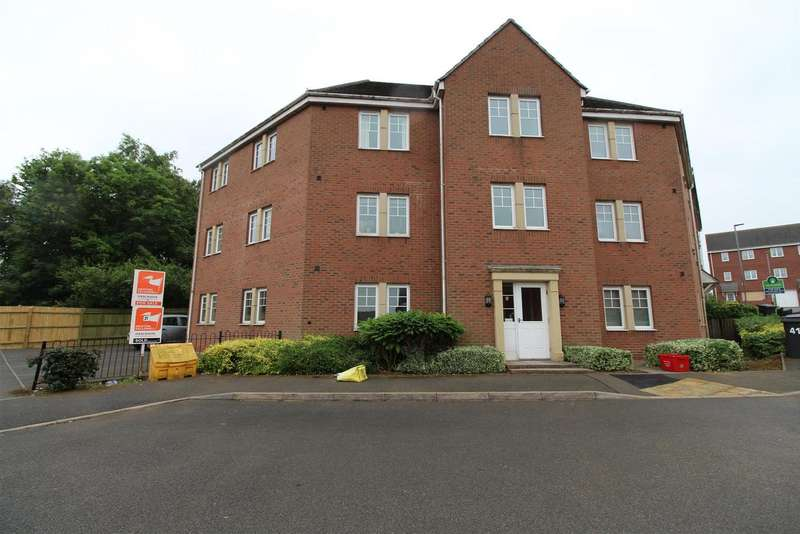 2 Bedrooms Flat for sale in Weavers Close, Whitwick, Coalville