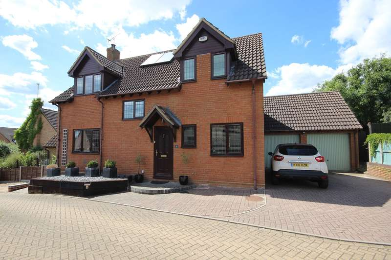 4 Bedrooms Detached House for sale in The Magpies, Maulden, Bedfordshire, MK45