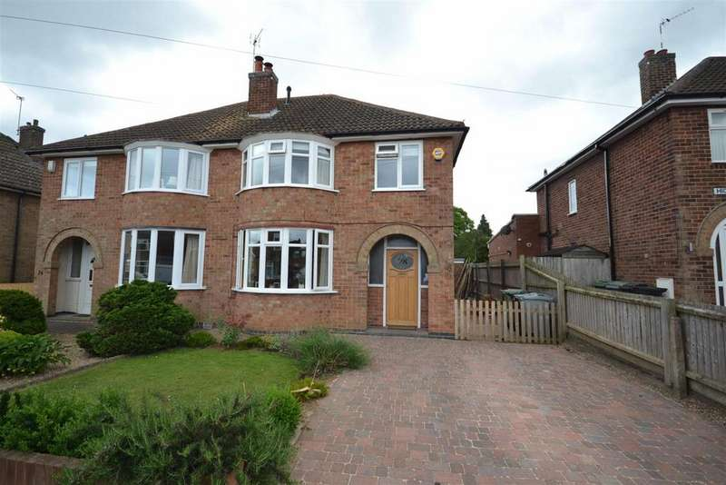 3 Bedrooms Semi Detached House for sale in Highlands Way, Stamford