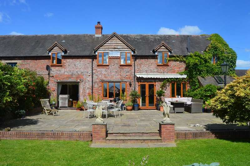 4 Bedrooms Barn Conversion Character Property for sale in Longlea, Longville in the Dale, Much Wenlock TF13