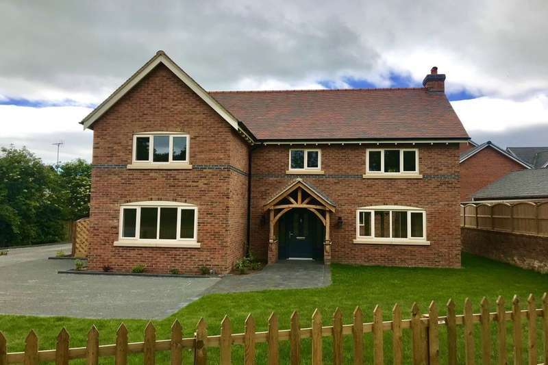6 Bedrooms Detached House for sale in Chester Road, Nomans Heath, Malpas, SY14