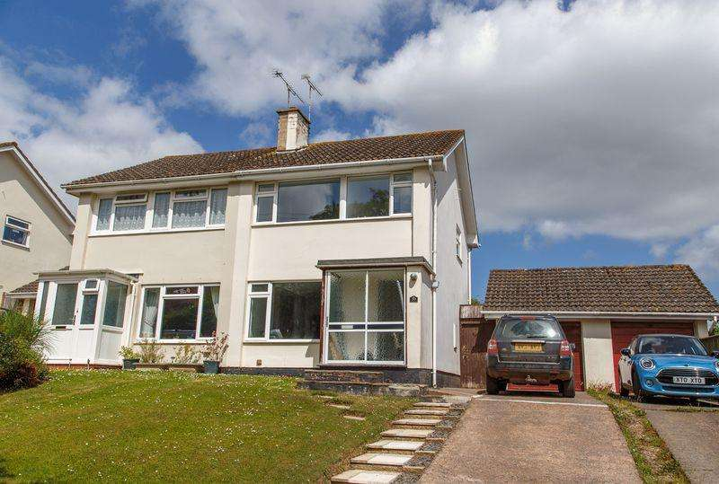 3 Bedrooms Semi Detached House for sale in School Lane, Tedburn St Mary