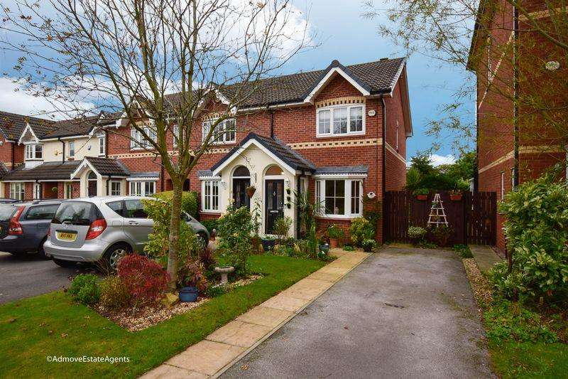 2 Bedrooms End Of Terrace House for sale in Chamberlain Drive, Wilmslow