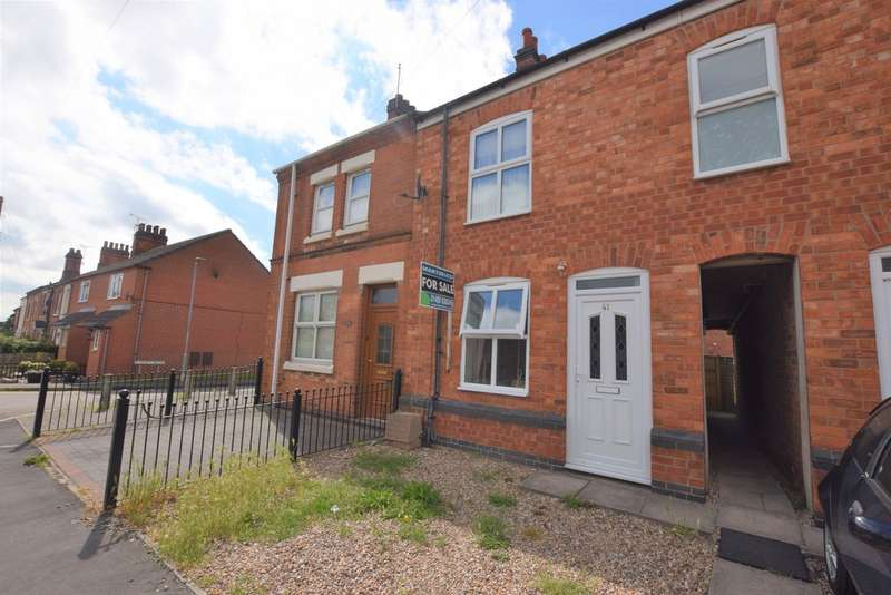 2 Bedrooms Terraced House for sale in Factory Road, Hinckley LE10
