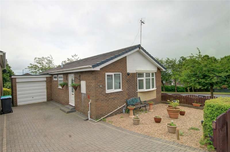 3 Bedrooms Detached Bungalow for sale in Gullane Close, Stanley, County Durham, DH9