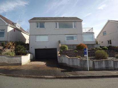 4 Bedrooms Detached House for sale in Cae Gwyn, Caernarfon, Gwynedd, LL55