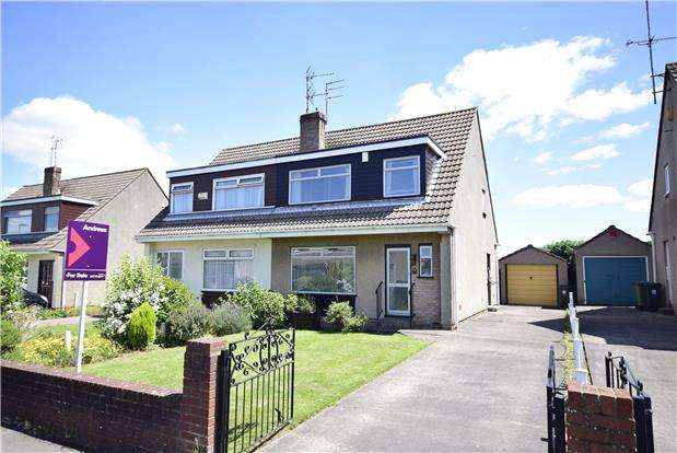 3 Bedrooms Semi Detached House for sale in Sutherland Avenue, Downend, BRISTOL, BS16 6QW