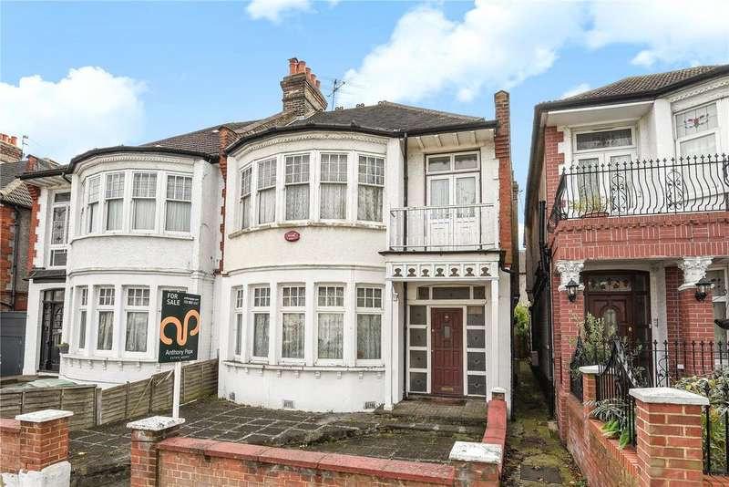 4 Bedrooms Semi Detached House for sale in Bourne Hill, Palmers Green, London, N13