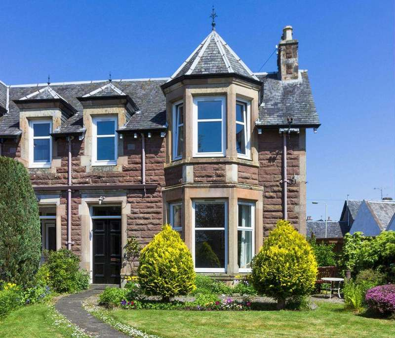 4 Bedrooms Semi Detached House for sale in Fairholm,13 Strathearn Terrace, Crief,f PH7 3AQ