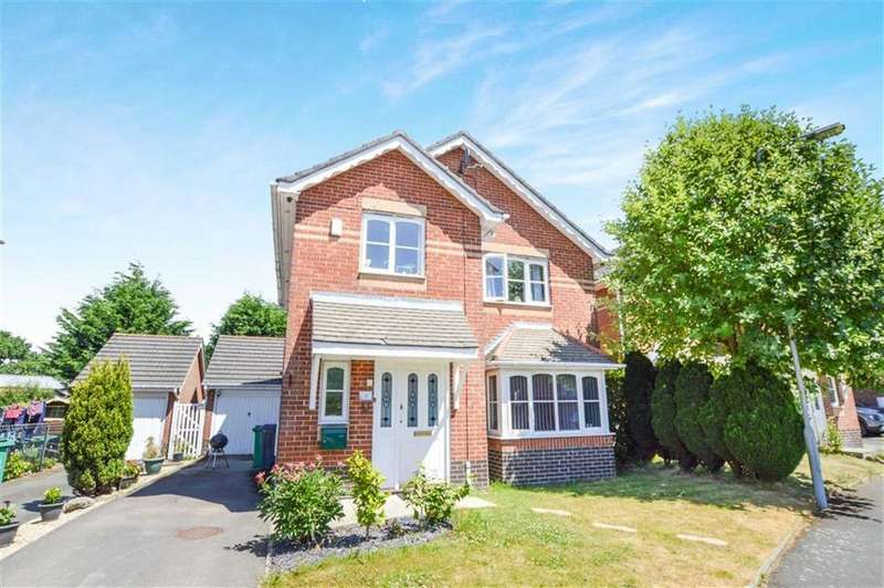 3 Bedrooms Detached House for sale in Jack Brady Close, Manchester/Hale Border, M23