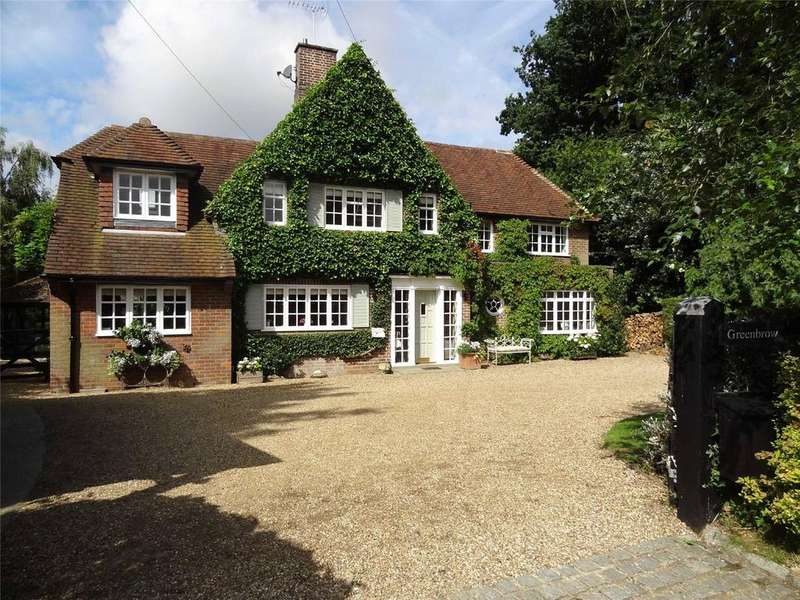 4 Bedrooms Detached House for sale in Water End Lane, Ayot St. Peter, Welwyn, Hertfordshire