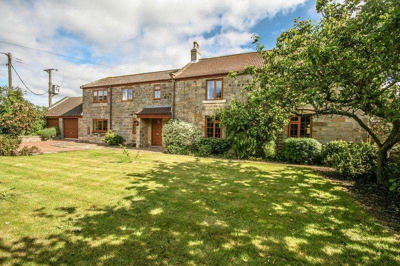5 Bedrooms Farm House Character Property for sale in Whitehall Farm, The Lane, Mickelby