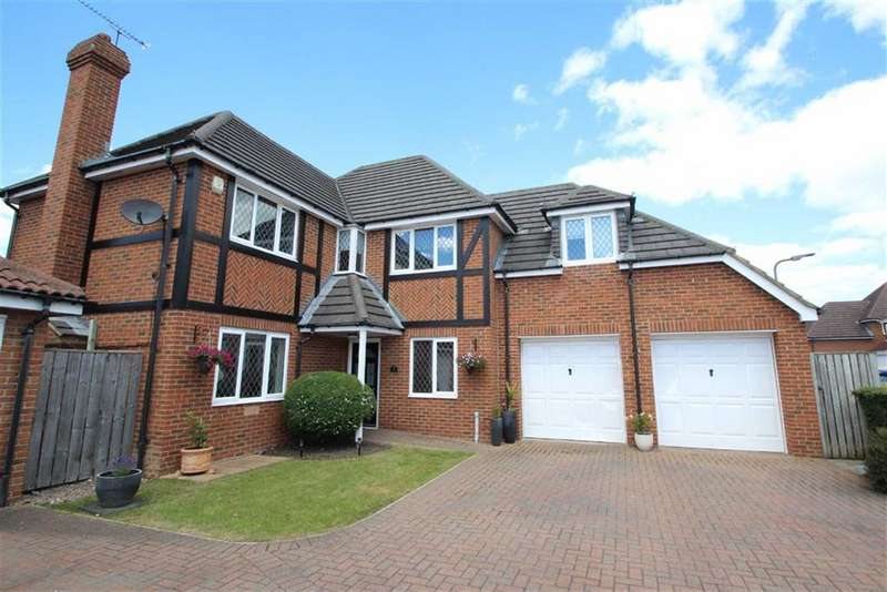 4 Bedrooms Detached House for sale in Lamonby Way, Cramlington, Northumberland, NE23
