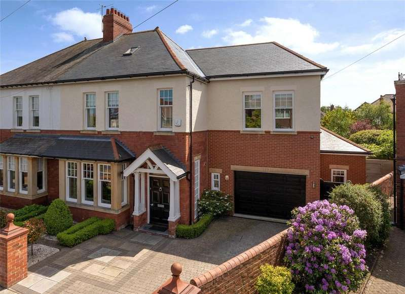 5 Bedrooms Semi Detached House for sale in Gosforth
