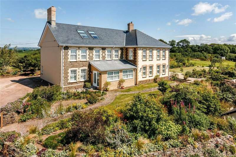 7 Bedrooms Detached House for sale in Chilton, Crediton, Devon