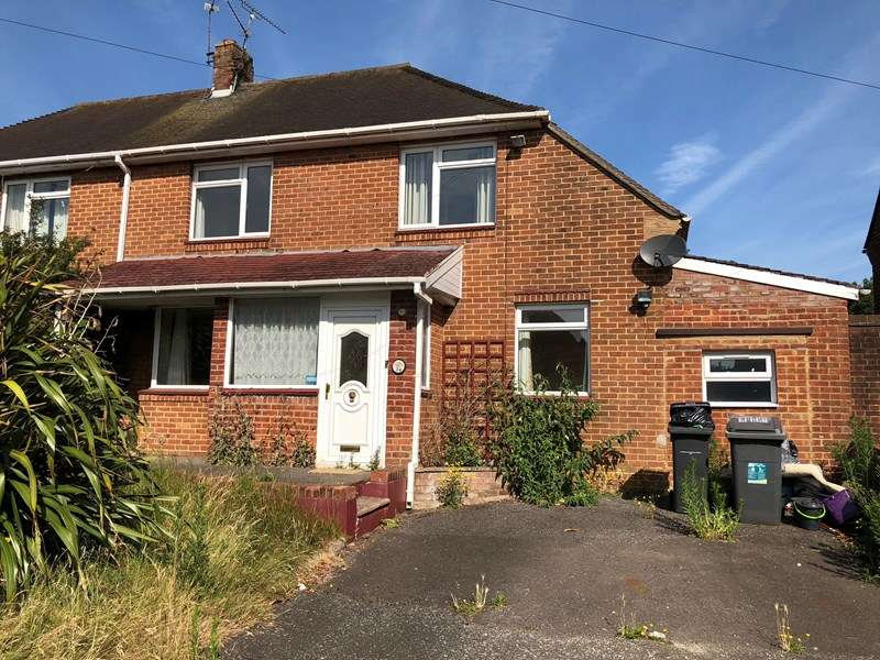 3 Bedrooms Semi Detached House for sale in Hall Road, West Howe, Bournemouth