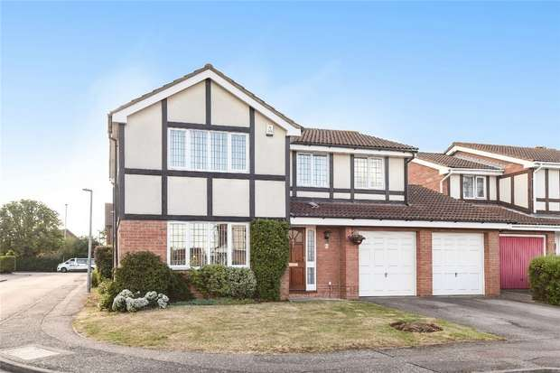 4 Bedrooms Detached House for sale in Naylor Avenue, Kempston, Bedford