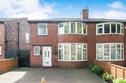 3 Bedrooms Semi Detached House for sale in Mauldeth Road, Manchester, Greater Manchester