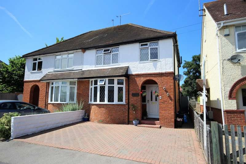3 Bedrooms Semi Detached House for sale in Wescott Road, Wokingham RG40