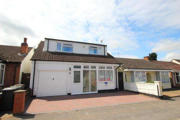 3 Bedrooms Bungalow for sale in Brighton Avenue, Syston, Leicester, LE7