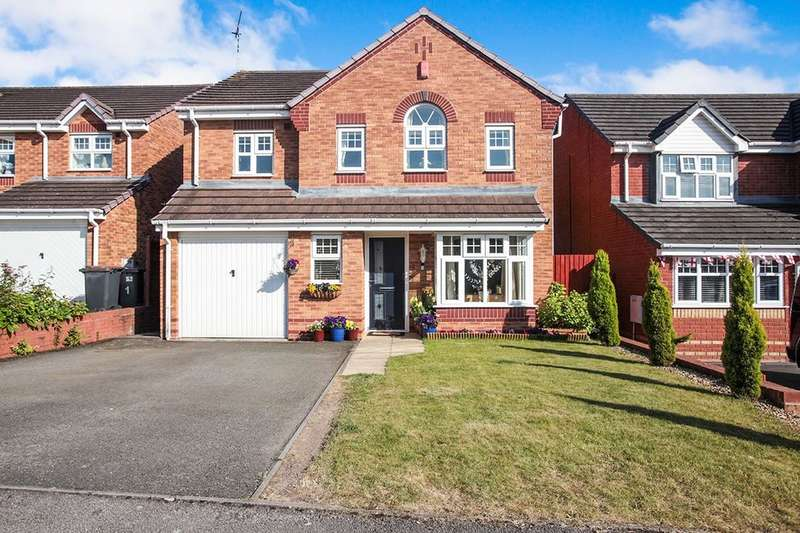 4 Bedrooms Detached House for sale in Haselbury Corner, Nuneaton, CV10