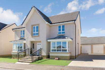 4 Bedrooms Detached House for sale in Balgownie Drive, Westerwood