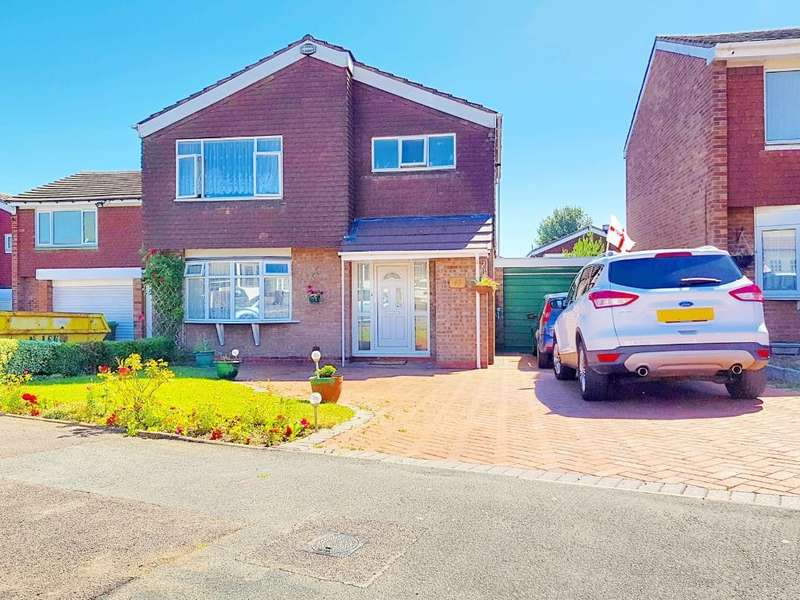 3 Bedrooms Detached House for sale in EUROPA AVENUE, WEST BROMWICH, B70 6TS